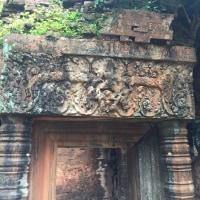 カンボジア コーケー遺跡群とベンメリア遺跡 日本人ご家族旅と プライベートタクシーアート