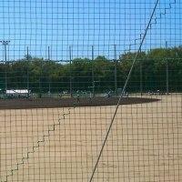 2箇所の野球場へ