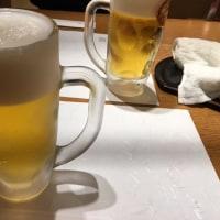 ビールと美味しい料理 優勝の祝杯!