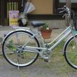 ノーパンクタイヤの自転車