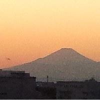 千葉からの富士山(テスト)