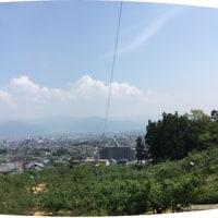 今日はネガマリダケをいただきました、入道雲・・