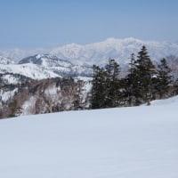 乗鞍沢~天狗の頭山スキー