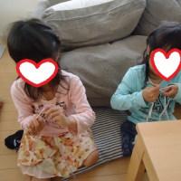 長女の初めてのかぎ針編みの作品☆