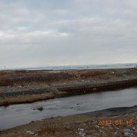 錦多峰川橋「☃日高山脈」