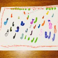 靴下屋の袋が可愛くて帽子屋バージョンを描いてみた