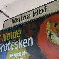 SaarburgからKoblenz経由でFrankfurt am Main国際空港を目指します。