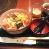 京都駅で、遅〜いお昼ご飯