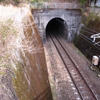 針生のトンネル!