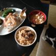 甘鯛の頭の塩焼きとたこ飯