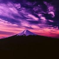 三つ峠より富士(フィルム VS デジタル)