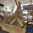 🚢屋形舟の作成はじまりました🚢