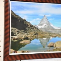 塩尻総合文化センターで「IT100]の風景写展示