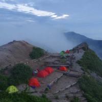 天空のテント場 燕岳