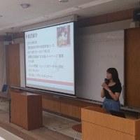 日本語パートナーズへ行った卒業生に来てもらいました!