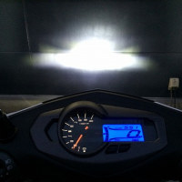 シグナスにLEDヘッドライトを装着してみた!(ヤマハ・YSP大分)