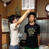 8月レッスン徒然(5)身長測定