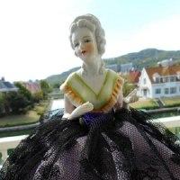 ハーフドールの「ヴェルデンベルグ侯爵夫人」・・・