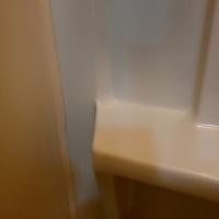 浴室キャビネット補修