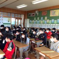 本日の読み聞かせ(1月18日) 6年2組