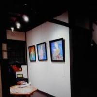 昨夜・・日本画家【鈴木靖将】万葉カレンダー原画展に行ってきました