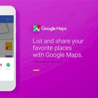 Googleマップに、地図上の「お気に入り場所」を保存したりシェアしたりできる新機能がリリース