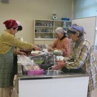 サゴシを使った料理教室を開催しました。
