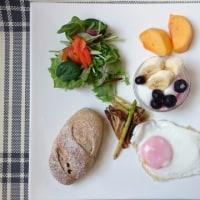 黒糖レーズンパン◆朝ご飯