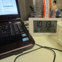 パン焼きと電波デジタル時計
