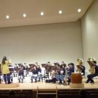 大雨の日に、高校生の吹奏楽を聴いてきました。