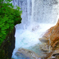 大瀑布がある。
