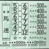 第17回チャンピオンズカップ他・検討