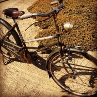 昭和の自転車は軽快