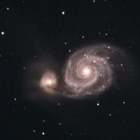 子持ち銀河 M51