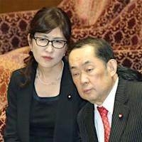 国内にいて、戦争と共謀罪成立に意気込む二人の大臣 / 「日本には、私たちがいるから大丈夫です」