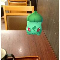 一人で食べてごめんね