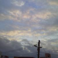 2016/12/1     午前7時過ぎ札幌の空模様  師走突入ε≡≡ヘ( ´Д`)ノ