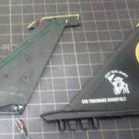 垂直尾翼 LED