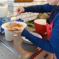イタリア人の料理教室