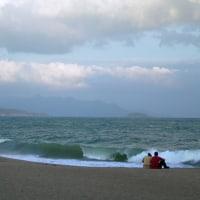 ニャチャンの海