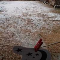 雪、ちょい降り