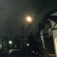 佳い月・・・