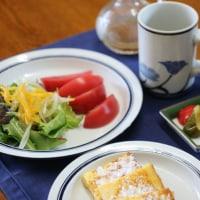 わが家の朝の食卓