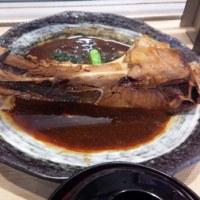 昨日は魚がし鮨で、マグロカマ定食