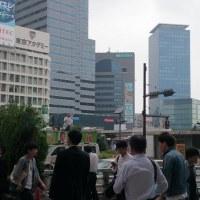 6月30日(木)東京にて街宣、演説風景写真