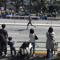 東京マラソン すでに折り返し!