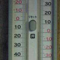 平成29年1月19日・今朝の東祖谷-1.4℃