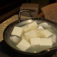 晩ご飯は湯豆腐・・・