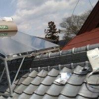 太陽熱温水器を取り替えるの巻