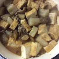 牛すじ味噌煮込み。
